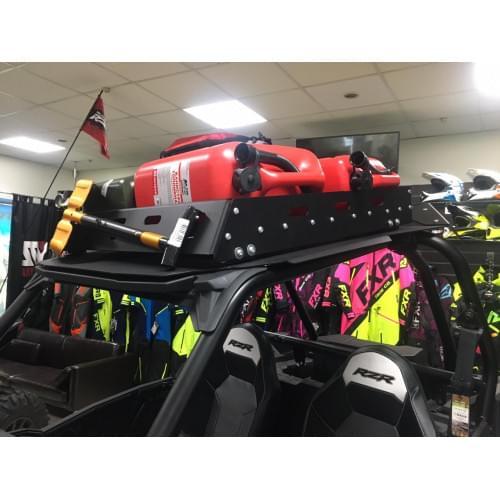 Экспедиционный багажник и алюминиевая крыша для Polaris RZR1000/Turbo