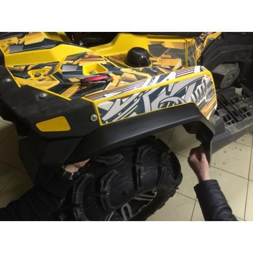 Расширители колесных арок для Stels ATV800G GUEPARD